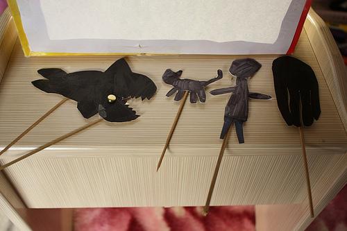 Детский театр теней своими руками